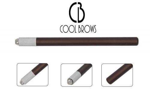pluma tebori microblading 1 punta marron 1